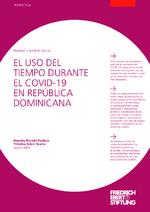 El uso del tiempo durante el Covid-19 en República Dominicana