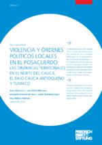 Violencia y órdenes políticos locales en el posacuerdo