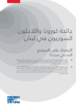 [COVID-19 and Syrian refugess in Lebanon]