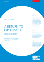 A return to diplomacy