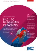 Back to bargaining in banking