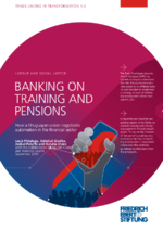 Banking on training and pensions