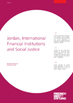 Jordan, international financial institutions and social justice