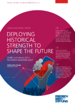 Deploying historical strength to shape the future