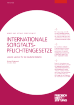 Internationale Sorgfaltspflichtengesetze
