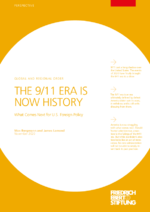 The 9/11 era is now history