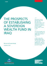The prospects of establishing a sovereign wealth fund in Iraq
