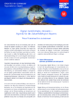 Digital, transformativ, innovativ - Agenda für die Zukunftsfähigkeit Bayerns