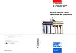30 Jahre Deutsche Einheit und das Erbe der SED-Diktatur