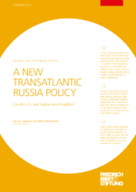 A new transatlantic Russia policy