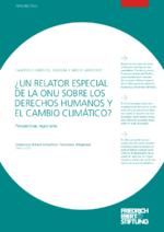 Un relator especial de la ONU sobre los derechos humanos y el cambio climático?