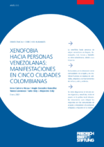 Xenofobia hacia personas venezolanas
