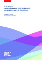 Tụ' ḍông hóa và tác ḍông tó'i vịêc làm trong ngành may ṃăc ó' Vịêt Nam