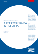 A Kosovo drama in five acts