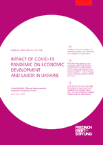 Impact of COVID-19 pandemic on economic development and labor in Ukraine