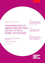 Transformations of labor migration from Ukraine to the EU during the pandemic