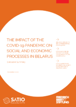 The impact of the COVID-19 pandemic on social and economic processes in Belarus