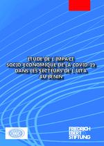 Etude de l'impact socio-economique de la COVID-19 dans les secteurs de l'UITA au Benin