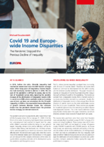 Covid 19 and Europe-wide income disparities