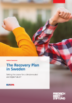 The recovery plan in Sweden