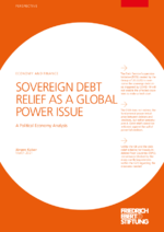 Sovereign debt relief as a global power issue