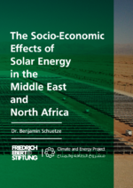 The socio-economic effects of solar energy in the Middle East and North Africa