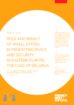 Role and impact of small states in promoting peace and security in Eastern Europe