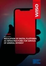 Regulation of digital platforms as infrastructures for services of general interest