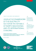Legislative framework of the electricity sector in the Republic of North Macedonia and its international standing