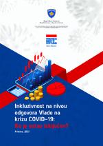 Inkluzivnost na nivou odgovora Vlade na krizu COVID-19