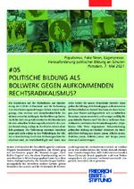 Politische Bildung als Bollwerk gegen aufkommenden Rechtsradikalismus?