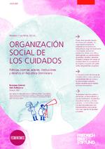 Organización social de los cuidados