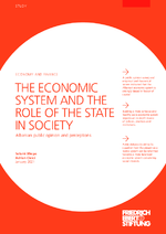 The economic system and the role of the state in society