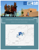 Local dynamics of conflict and peace in Central Afghanistan
