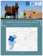 Local dynamics of conflict and peace in Western Afghanistan