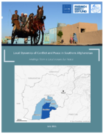 Local dynamics of conflict and peace in Southern Afghanistan