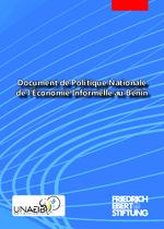 Document de la politique de l'économie informelle au Bénin Février 2021