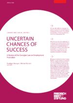 Uncertain chances of success