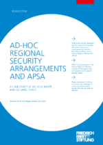 Ad-hoc regional security arrangements and APSA
