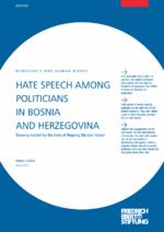 Hate speech among politicians in Bosnia and Herzegovina
