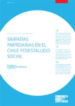 Simpatías partidarias en el Chile posestallido social