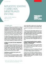 Impuestos sexistas y derechos menstruales en Chile