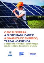 O big push para a sustentabilidade e a dinâmica do emprego, trabalho e renda