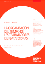 La organización del tiempo de les trabajadores de plataformas
