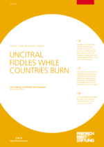 UNCITRAL fiddles while countries burn