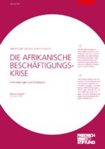 Die afrikanische Beschäftigungskrise
