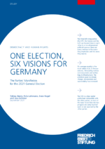One election, six visions for Germany
