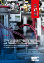 Setting priorities, pooling resources and accelerating transformation