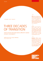 Three decades of transition