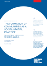 The formation of communities as a social-spatial practice